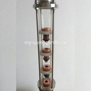 Колпачковая колонна для дистилляции 2 дюйма медь